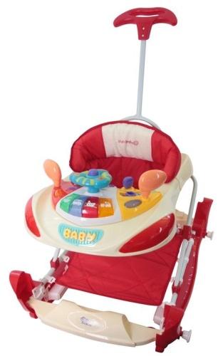 Sun Baby bébikomp bézs / piros SB-213PR